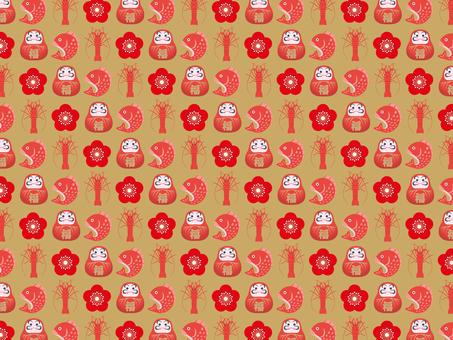 New Year Pattern -3