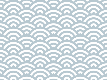 Wallpaper Qinghai wave 03 Lateral loop possible Gray
