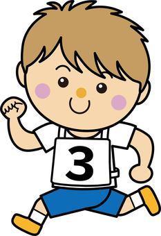 Boy 13_06 (running · number 3)