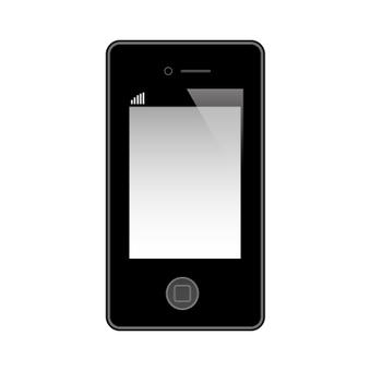 스마트 폰 · 아이폰 블랙