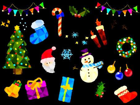 Christmas set (Crystal)