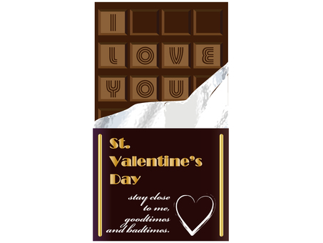 Board chocolate (Valentine's Day)