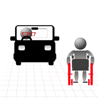 Wheelchair passing 1