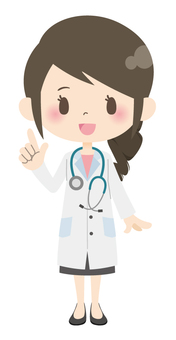Female doctor * basic pose 01