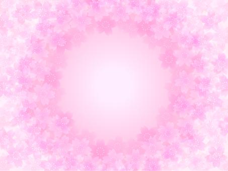 Cherry Blossom Frame B (Pink)