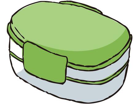 Lunch box (green)