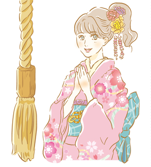 Hatsumode Women 8