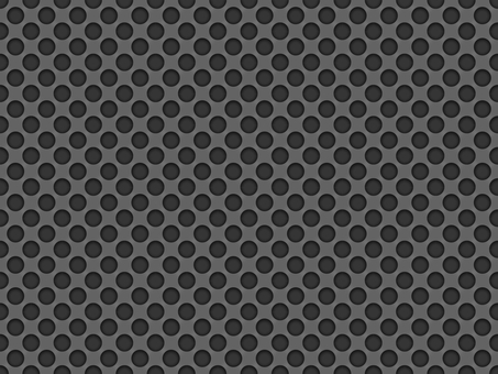 Background material * Metallic punch pattern