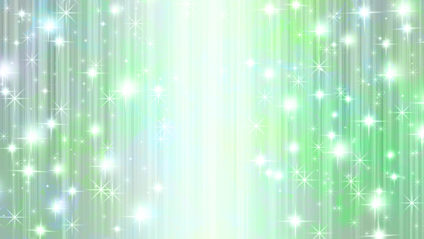 Video material Speed line Effect line Glitter green