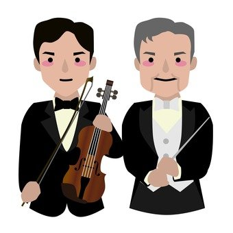 Violinist and conductor