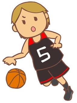 バスケ選手