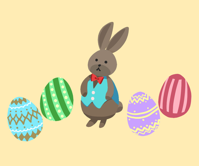 Easter Brown Rabbit