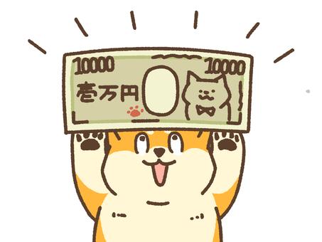 1萬日元紙幣柴