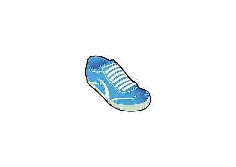 Shoes (blue)