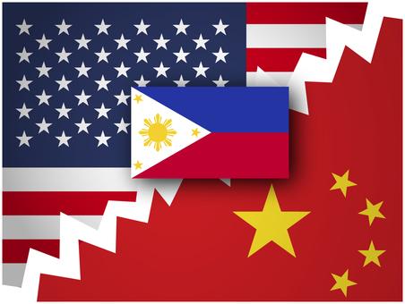 America China Philippines