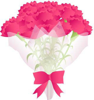 康乃馨花束2