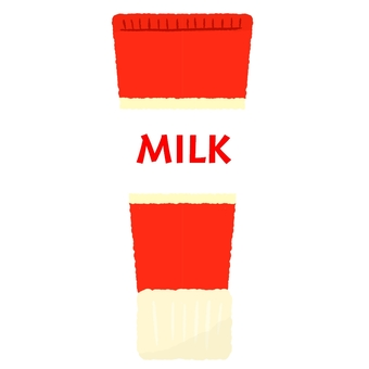 Tube condensed milk