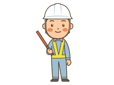 Construction site guardman