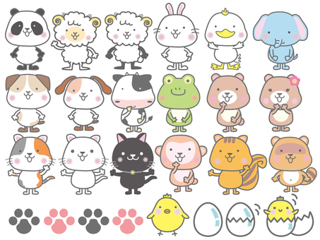 Động vật khác nhau