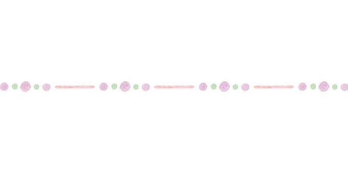 Watercolor line pink