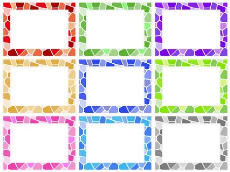 Random tile frame