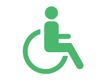 Pictograms People with disabilities
