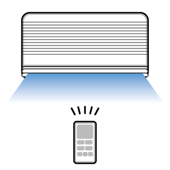Air conditioner image (cooling)
