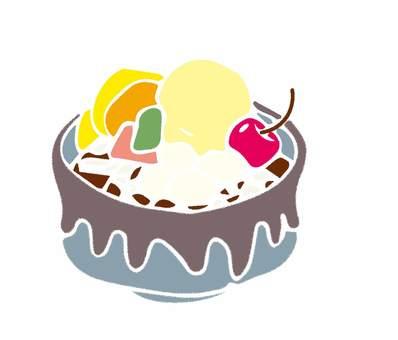 Shiratama Cream Anmitsu