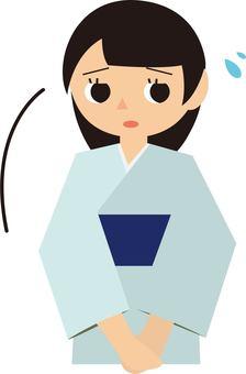 Kimono woman 3