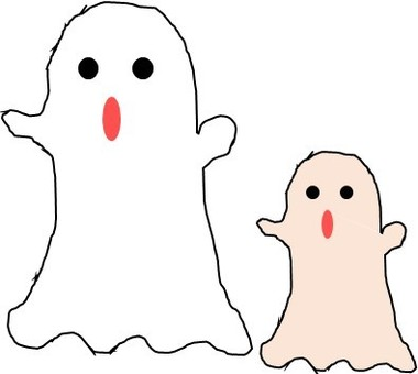 Parent and child of Obake