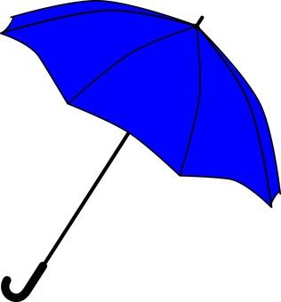 Umbrella 1 blue