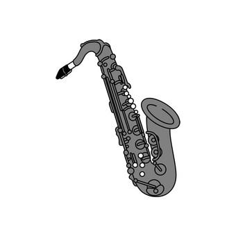Musical instrument sax