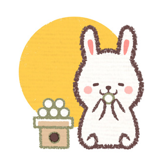 Dumpling rabbit moon