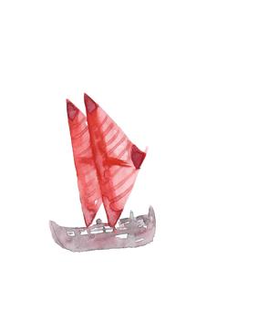 Yacht sailboat