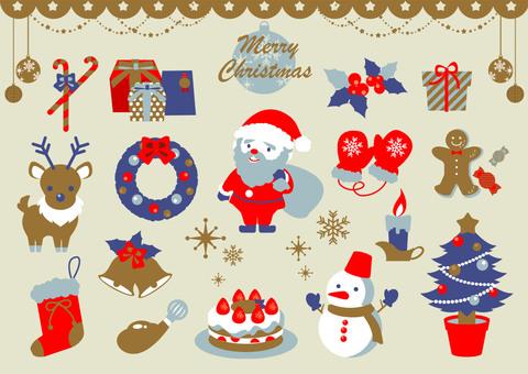 Fancy Christmas set 02