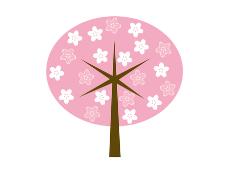 도안 벚꽃 나무 16