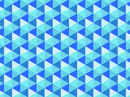Hexagon pattern blue