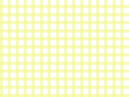 Gingham check yellow