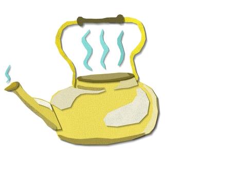 Paper kettle
