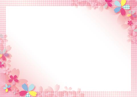 Pop cherry pattern frame _ Gradet P
