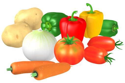 Vegetable 0001_3DCG