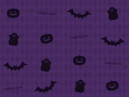 Halloween pattern _ purple