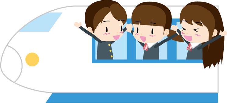 School excursion (Shinkansen)