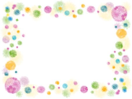 Flower small flower frame