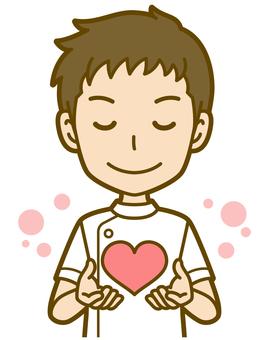 男(護士):A_ Heart 02BS