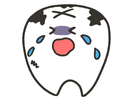 Tooth crying tooth