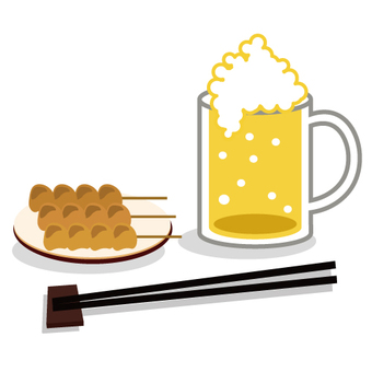 Cheers with beer! Image of
