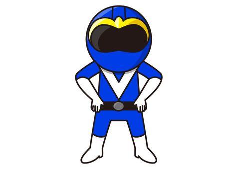 Blue Ranger - Standing Pause