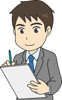 Suit male 01_ write