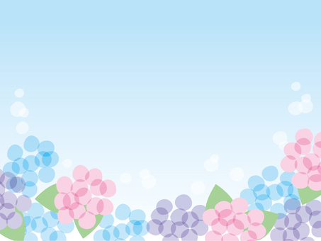 Background (hydrangea)